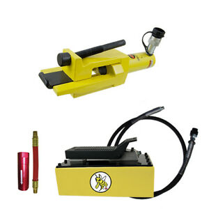 Esco Equipment 10844 Giant Tire Bead Breaker Kit Yellow Jackit 5 Qt Metal Pump