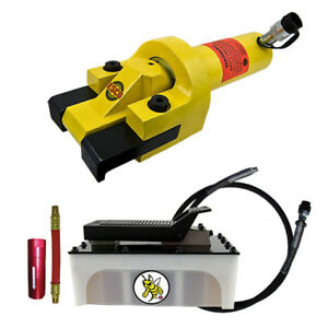 Esco Equipment 10827 Giant Tire Bead Breaker Kit Yellow Jackit 5 Qt Pump