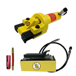 Esco Equipment 10842 Giant Tire Bead Breaker Kit Yellow Jackit 5 Qt Metal Pump