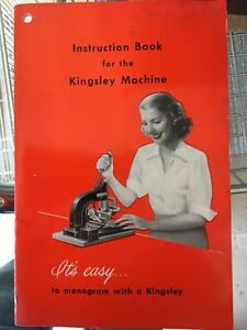 Kingsley Hot Stamping Machine