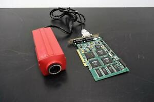 Alpha Innotech 8710 8 001 Video Camera W Cabling And Pci Card Pcv17004