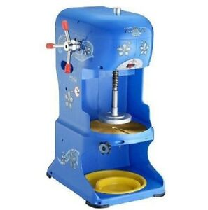 Hawaiian Shaved Ice Machine Ice Shaver Snow Cone Maker Commercial