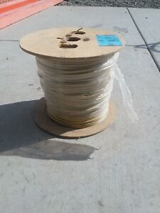 Yellow 2500 Ft 10 Gauge Str Cu Thhn Building Electrical Wire