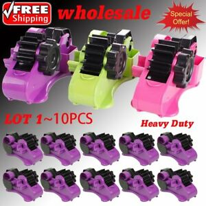 Heavy Duty Office Recycled 2 in 1 Tape Dispenser Multifunctional Sticky New Sw