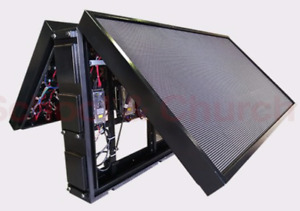 P6 Led Programmable Electronic Sign billboard For Store Front 4 x7