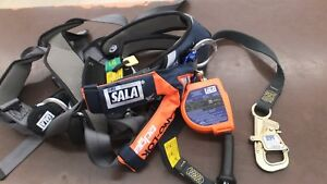Exofit Nex Safety Harness And Sala Nano Lok Edge 6ft Life Line mint Condition