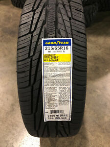 2 New 215 65 16 Goodyear Assurance Tripletred All Season Tires