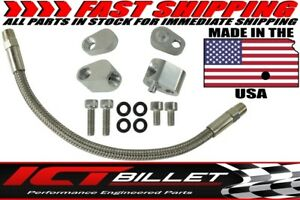 Ls Throttle Body Bypass Delete Hose Kit Coolant Steam Crossover Ls1