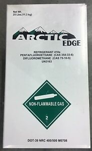 25 Lb Cylinder R410a R 410a Refrigerant Freon New Factory Sealed