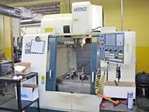 Hardinge Vmc 600 Ii Cnc Vertical Machining Center Mill Cat 40 8000 Rpm Fanuc I