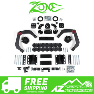 Zone Offroad 4 Combo 2 5 Lift Kit 1 5 Body Lift For 06 08 Dodge Ram 1500 4wd