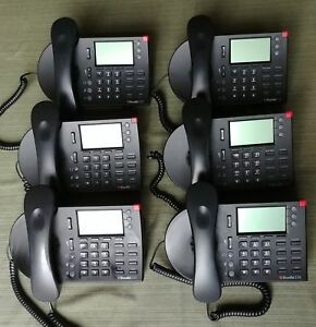 Lot Of 10 Shoretel Ip 230 3 line Business Phone With Handset Stand
