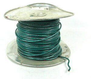 10 Awg Machine Tool Wire Copper Boat Cable Awm Green 41105