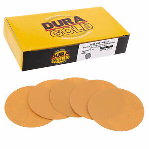 1000 Grit 3 Gold Hook Loop Sanding Discs Da Sanders Box Of 40 Sandpaper