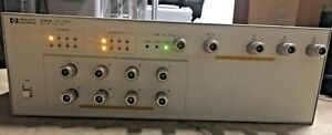 Hp 4380a 1khz 500 Mhz 8 Port S parameter Test Set Use For 8751a 4395a Series