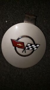 1982 Corvette C3 Collector Edition Rear Gas Lid Door With Chipped Emblem Used