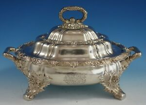 Chrysanthemum By Tiffany And Co Sterling Silver Vegetable Dish Covered 2787