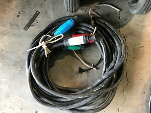 15ft 4 0 Stage Lighting entertainment Cable W J Series Camlock Jumpers