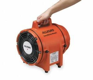 Allegro 9538 Axial Explosion Proof Confined Space Fan 3250 Rpm 3pak1 New