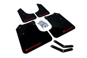 Rally Armor Ur Mud Flaps Black Red Logo For 2008 2011 Subaru Impreza 2 5i