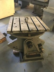 20 x20 T Slotted Tilting Rotary Table