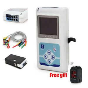 Contec Medical 3 Channel Ecg Holter System recorder Monitor analyzer Software