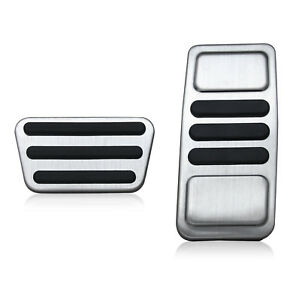 Sport Pedal Cover For Ford Mustang 2015 2019 Gas Accelerator Brake Pad Accessory