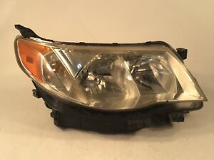 2009 2010 2011 2012 2013 Subaru Forester Right Passenger Halogen Headlight Oem