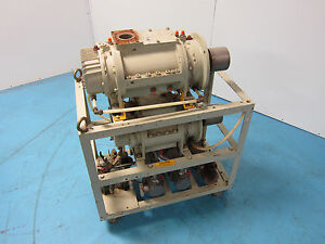 Ebara Hermetic Pump Model Ccw W 3phase Motor For Parts As is