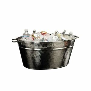 American Metalcraft Hmdob19149 Hammered S s Party Tub