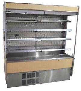 Federal Rssm 678sc 3 Grab N Go Display Case Refrigerated Open Air Cooler 71