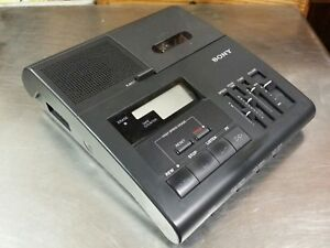 Sony Bm 840 Microcassette Transcriber Dictation Machine Only Working Condition