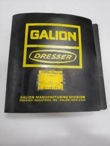 Galion Dresser T 500 L Motor Grader Shop Manual Wheel Rollers Cranes