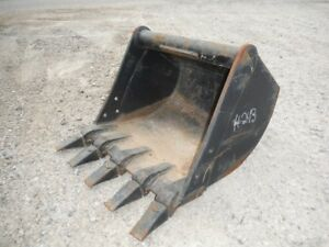 New Cp Attachments 24 Mini Excavator Tooth Bucket
