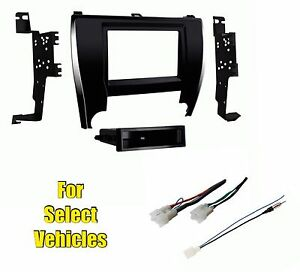Car Stereo Radio Install Dash Wire Kit Combo For Some 2015 2017 Toyota Camry