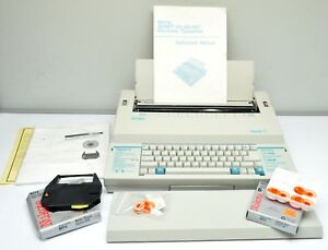 Vtg Royal Model Signet 25 Electronic Typewriter Instruction Manual More