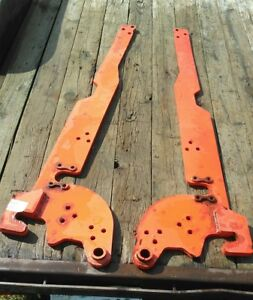 Kubota Bh 4972 Sub Frame Mount For Bh77 Backhoe To A B3000 Cab Tractor With Seat