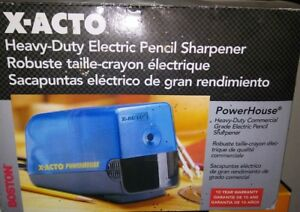 2003 New X acto Heavy Duty Electric Pencil Sharpener School Office New