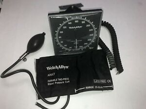 Welch Allyn Wall Blood Pressure System Adult Cuff Extension Tube Wall Holder