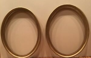 Antique Guild Wood Picture Frames 2 Matching