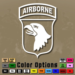 101st Airborne Division Decal Logo Bumper Sticker Army Insignia Military Ms 051