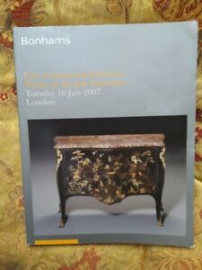 Bonhams Catalogue Fine Continental Furniture Works Of Art And Tapestries