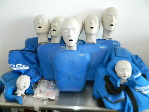Cpr Prompt Training Manikins 6 Adult 2 Infant Mannequins Extra Manikin Included
