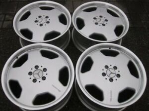 Ultra Rare Genuine Mercedes Amg Monoblock 19 Wheels In Showroom Condition