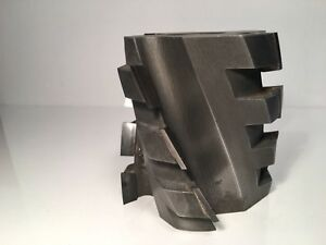 Dml Lineberry Spiral Straight Shaper moulder Cutter Carbide Tipped 1 1 4 Bore