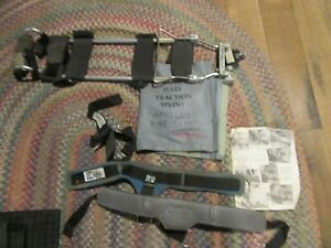 Dynamed Hare Traction Splint Extrication Gray Accessory Bag Mod 1001 W straps