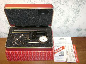 Starrett Dial Test Indicator No196a1z W Case Box Attachments New Old Stock