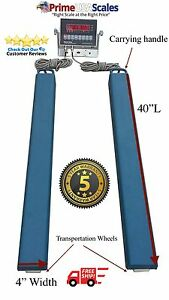 40 Bar Scale 3 500 Lb Livestock Scale Preifert Chute Weigh Bars Cattle Scale