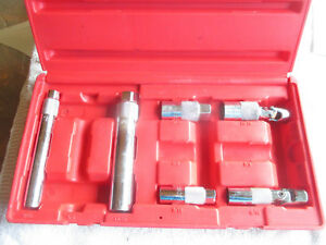 Mac Master Spark Plug Socket Set With Case 3 8 Drive Spk9 set 9 16