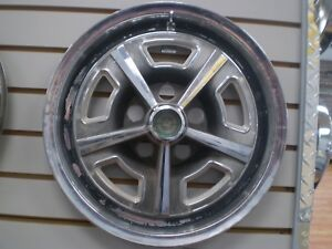 1967 1968 1969 Ford Thunderbird Wheelcover Hubcap Oem 67 68 69 634 667